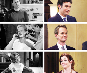 Barney Stinson, lily aldrin, and marshall ericksen image