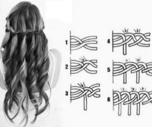 hair and step by step image
