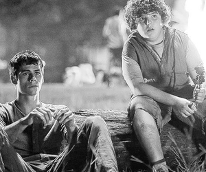 chuck, thomas, and the maze runner image