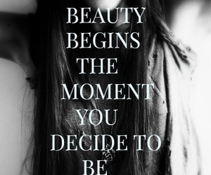 be yourself, beautiful, and black and white image