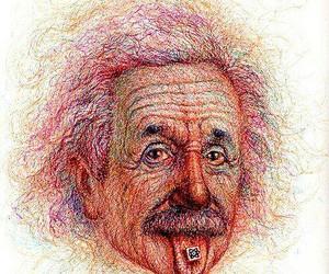 Albert Einstein and lsd image