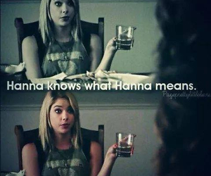 hanna, pll, and her image