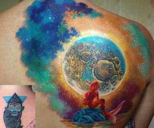 ariel and tattoo image