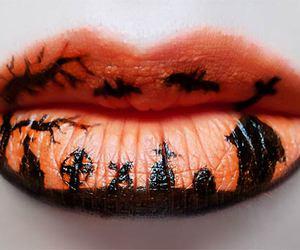Halloween, lips, and makeup image