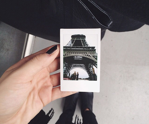 paris, polaroid, and adventure image