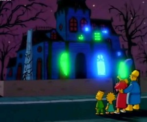 Halloween, house, and simpsons image