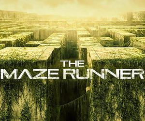 the maze runner and book image