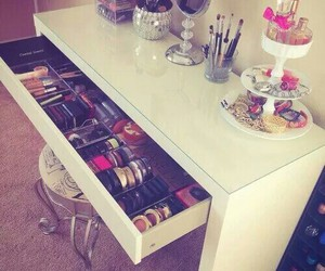 makeup, decor, and make up image