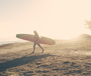 adventure, beach, and surf image