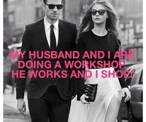 husband, shopping, and shop image