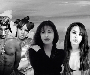 aaliyah, biggie, and Eazy E image