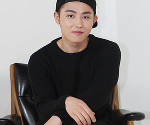 hat, cute handsome, and ukwon image