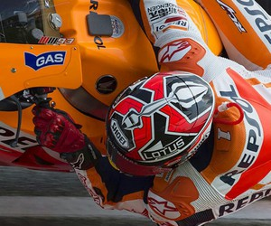 moto gp and marc marquez image