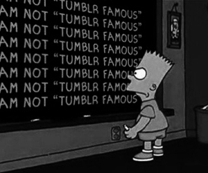 bart simpson, reality, and text image