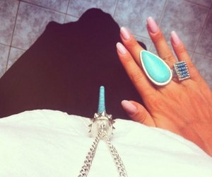 blue, clothes, and rings image