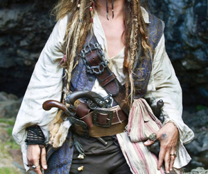 johnny depp, jack sparrow, and captain jack sparrow image