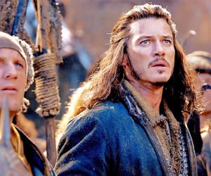 the hobbit, bard, and luke evans image