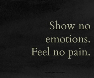 emotions, pain, and quotes image