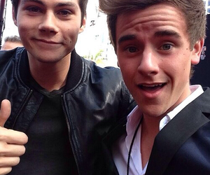 connor franta, dylan o'brien, and teen wolf image
