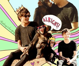 louis tomlinson, one direction, and cute image