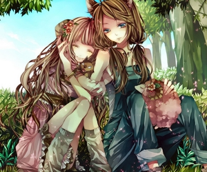 lovely sisters image