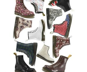 boots, colorful, and dr martens image