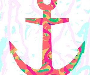 anchor, girly, and art image