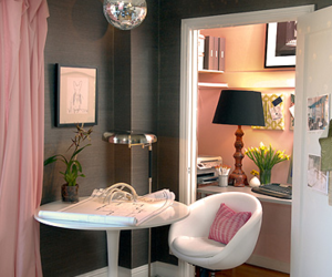 room, pink, and pretty image