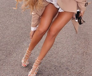 long legs, tanned, and tannef image