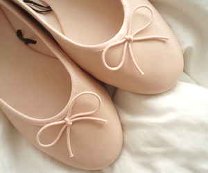 ballerina, bow, and H&M image