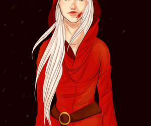 celaena, manon blackbeak, and throne of glass image
