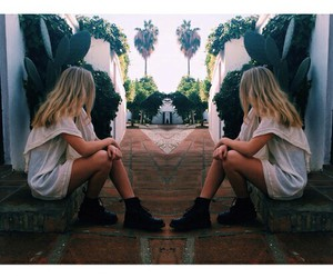 double, style, and summer image