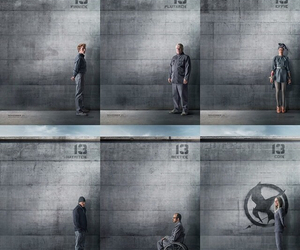 mockingjay, district 13, and finnick odair image