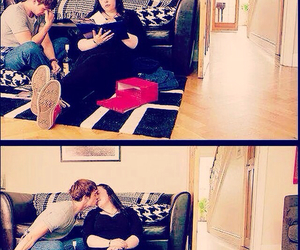 couple, my mad fat diary, and finn image
