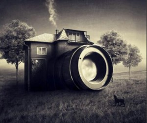 camera, inspiring, and house image