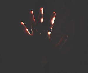 hand, dark, and indie image