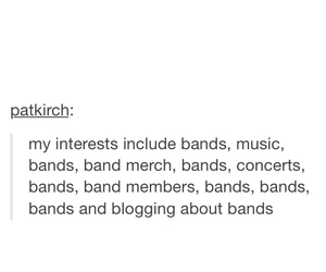 quote, band, and music image