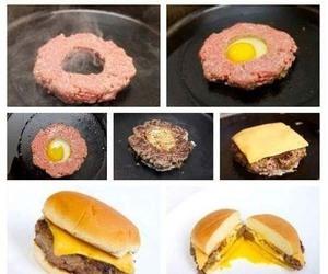 food, diy, and burger image