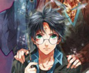 harry potter, anime, and manga image