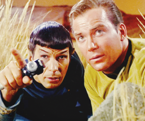 60's, TOS, and captain kirk image