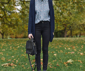 blue, fashion, and style image