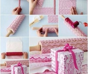 pink, diy, and do it yourself image