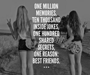 memories, best friends, and joke image