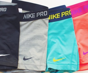 nike, nike pro, and fit image