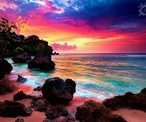amazing, paradise, and colors image