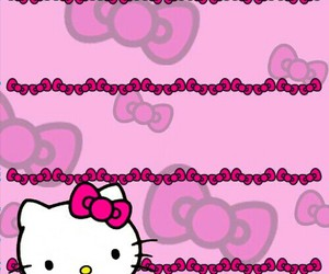 hello kitty and hello kitty wallpaper image