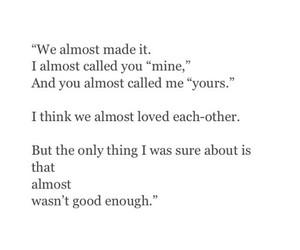 enough, mine, and love image