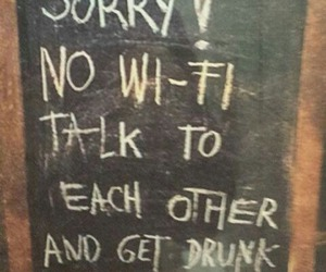wifi, funny, and drunk image