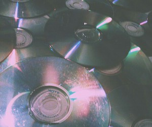 cd, grunge, and music image