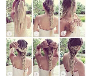 hair, hairstyle, and tricks image